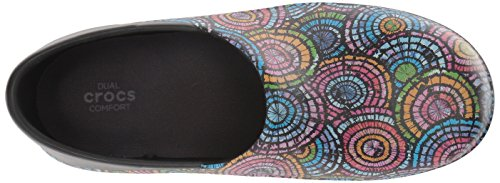 Black Clog Women's Crocs Graphic Multi Work Neria II Pro dxTwYY0Hq