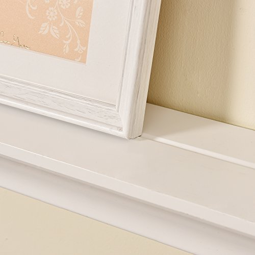 Welland Classic Painted Wall Floating Shelf Crown Molding