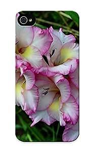For JeKEGno1009KIwMB Pink Gladioli Protective Case Cover Skin/iphone 5/5s Case Cover