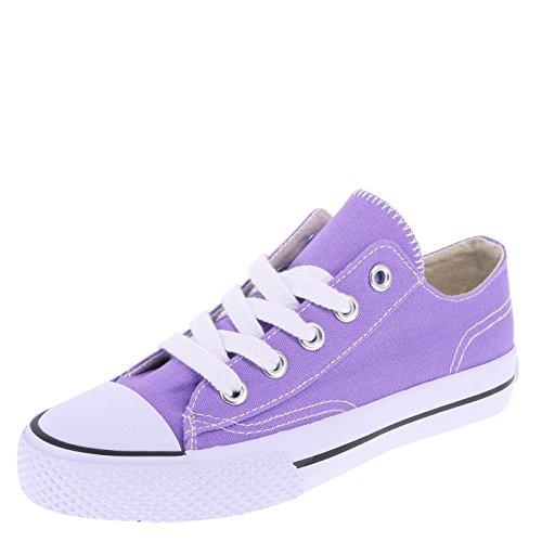 Airwalk Purple Canvas Kids' Legacee Sneaker 13.5 Regular (Shoes Kids Purple)
