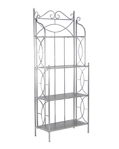 Deco 79 66313 Display Shelves, Large, (Large Display Cabinet)