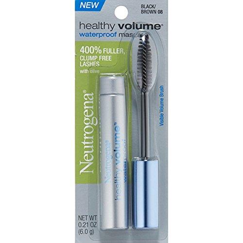 Neutrogena Cosmetics Healthy Volume Waterproof Mascara - Black/Brown ()