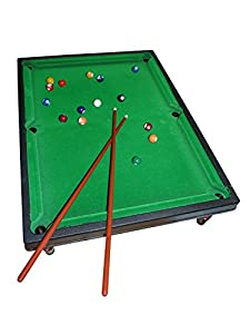 A113, Mini Billiardtisch, Pooltable als 43 teiliges Set - Billiardtisch,