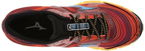 Mizuno Wave Kazan, Scarpe da corsa uomo Multicolore Red/Blue/Yellow