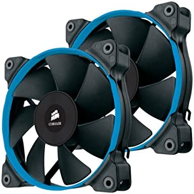 Corsair SP120 Quiet Edition Ventilador de PC, 120 mm (Paquete ...