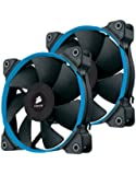 Corsair CO-9050006-WW Air Series SP120 120mm Edition Silencieuse Ventilateur de boitier Twin Pack