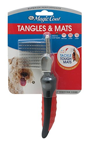 Four Paws Magic Coat Dog Grooming Mat Removing Comb ()