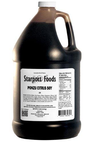 Starport Foods Ponzu Citrus Soy Sauce, 1/2 gallon (NET WT 4.7 lb, 75 oz)