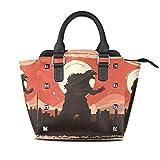 FANTAZIO coach handbags Rage Godzilla In City for party/Shopping