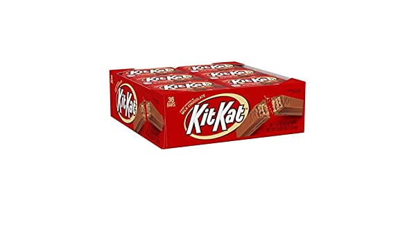 Kit Kat Candy Bar, Milk Chocolate Covered Crisp Wafers