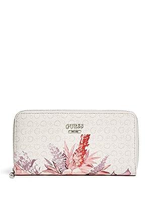 GUESS Women's Ashville Zip-Around Wallet
