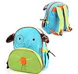 Blabroge Cute Zoo Pack Little Kid Backpack (Dog)