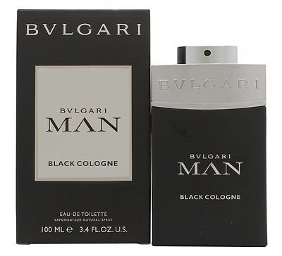 Bvlgari Man In Black Cologne Eau De Toilette Spray, EDT 3.4 fl oz. 100 ml ()