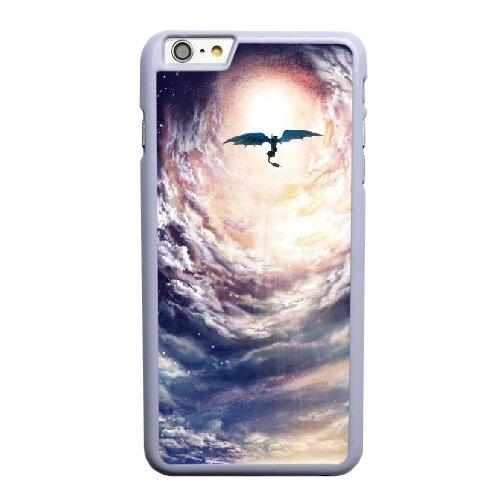 Coque,Apple Coque iphone 6 6S plus (5.5 pouce) Case Coque, Generic Train Your Dragon Art Cover Case Cover for Coque iphone 6 6S plus (5.5 pouce) blanc Hard Plastic Phone Case Cover