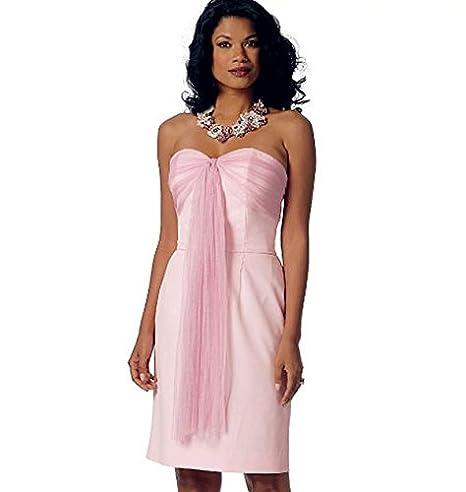 Butterick B6131 costura para confeccionar blusas, trajes, vestidos, moda, BTK 6131 E5 (14-22) Deu. Gr. 40-48: Amazon.es