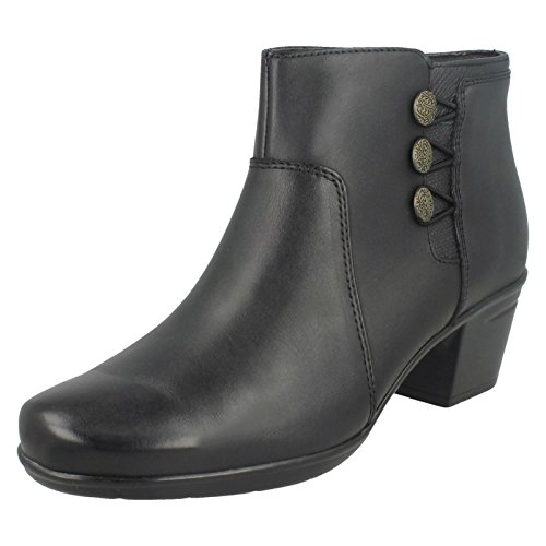 Black Boots Emslie Monet Ladies Clarks Ankle qEUFxXwz0