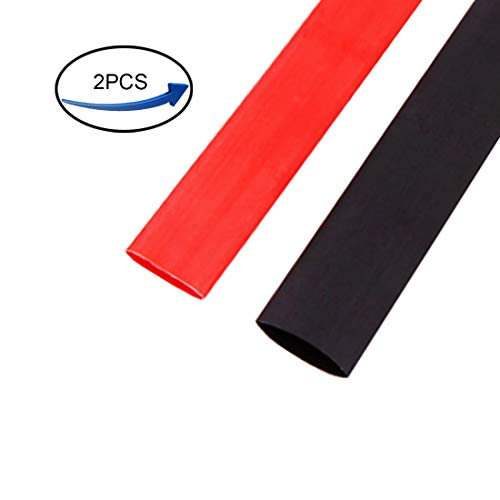 Ted Lele Dual-Wall 3:1 Adhesive Lined Heat Shrink Tubing, 1.5M/5FT, 25.4 mm, 1