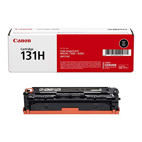 Capacity Yellow Cartridge Laser - Canon Original 131H High Capacity Toner Cartridge - Black