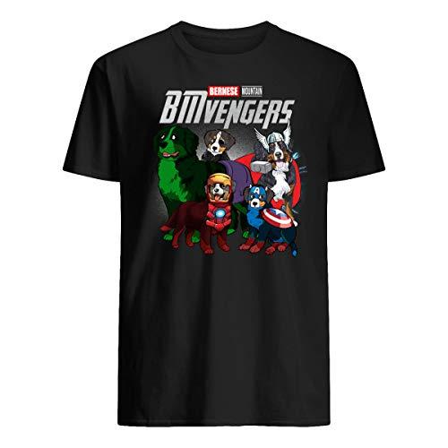 - Reality Stone Funny Bernese Mountain Dog Lover Gift BMvengers T-Shirt for Women Men Kids Boy Black