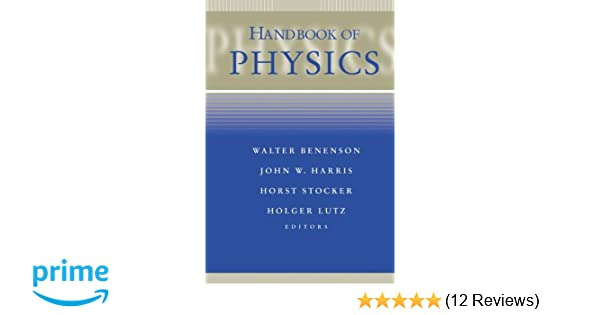 Handbook Of Physics Walter Benenson Ebook