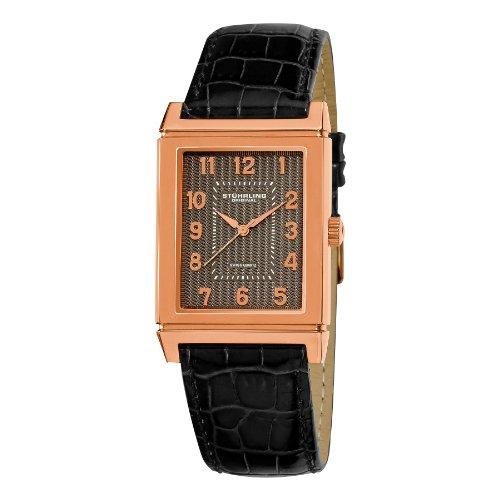 Stuhrling Original Men's 359.334554 Skyline Date Black
