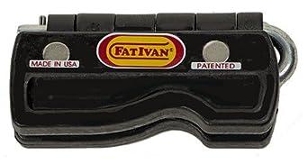 The Original FatIvan Fold Up Door Chock with Magnet - Black