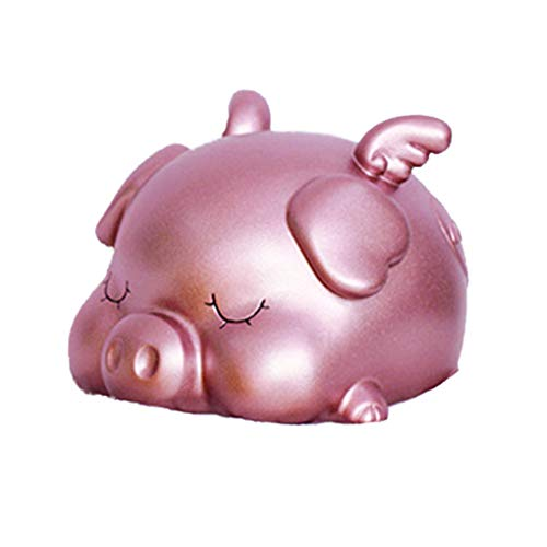 (Wrea Cartoon Piggy Bank Child Money Box Saving Cash Coin Money Box Children Toy Kids Gifts Home Decoration)