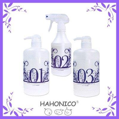 HAHONICO Hahoniko (with hard case) Kiramerame treatment system set (No.1, No.2, No3) by Hahoniko