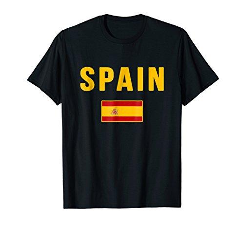 T-shirt Flag Spain - Spain T-shirt Spanish Flag Espana