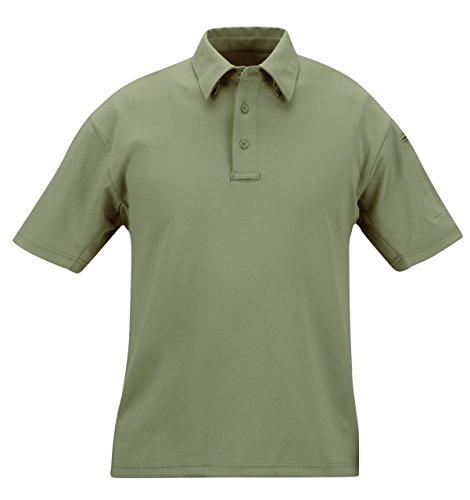 Propper mens I.C.E. Men's Performance Polo - Short sleeve, Sage Green, Small (Propper Sage Green)