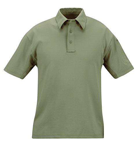 Propper mens I.C.E. Men's Performance Polo - Short sleeve, Sage Green, - Gear I Sunglasses