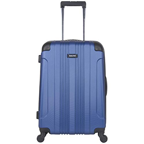 Kenneth Cole Reaction Out Of Bounds 24-Inch Check-Size Lightweight Durable Hardshell 4-Wheel Spinner Upright Luggage (Best Upright Spinner Luggage)