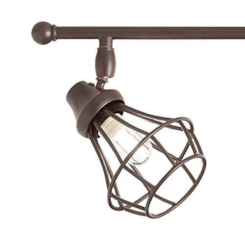 Kichler Lighting 4-Light Bayley Olde Bronze Dimmable Standard Fixed Track Light Kit, 32.24-in
