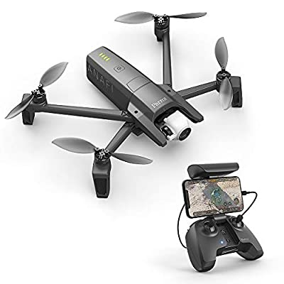Parrot Anafi Drone - Ultra Compact Flying 4K HDR Camera, Dark Grey