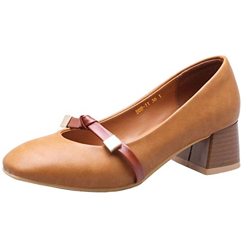 All Large with Brown Bowtie with for Cute Shoes Casual Shoes Spring SJJH Match Hqf0F
