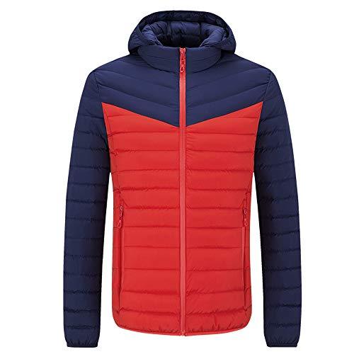 warme mit Winterjacke Orange Mantel Steppjacke abgestimmter Baumwoll ...