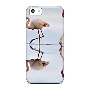 MMZ DIY PHONE CASEiphone 6 plus 5.5 inch Cover Case - Eco-friendly Packaging(flamingos Lagoon Spain)
