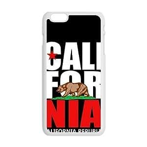 GKCB california republic t shirt Phone Case for Iphone 6 Plus