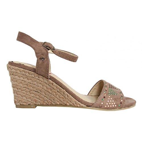 Sandalias de Mujer MTNG 55725 AFELPADO PIEDRA