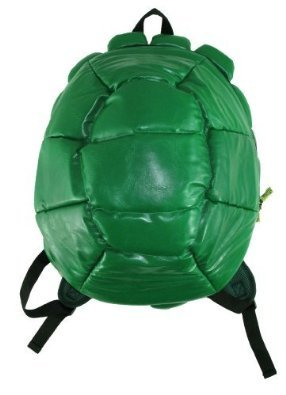 [Bioworld TMNT Shell Backpack Green (Standard)] (Adult Ninja Turtle)