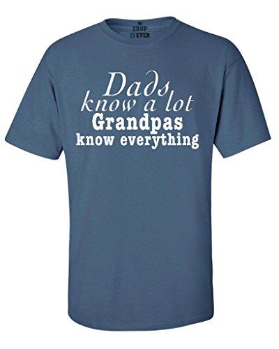 Ptshirt.com-19161-Shop4Ever® Dad Knows A Lot Grandpa Knows Everything T-shirt Funny Shirts-B01L0HZQBY-T Shirt Design