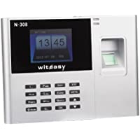 Witeasy N-308 2.8 TFT Biometric Fingerprint Attendance Time Clock Employee Payroll Recorder *Detailed Instruction included*