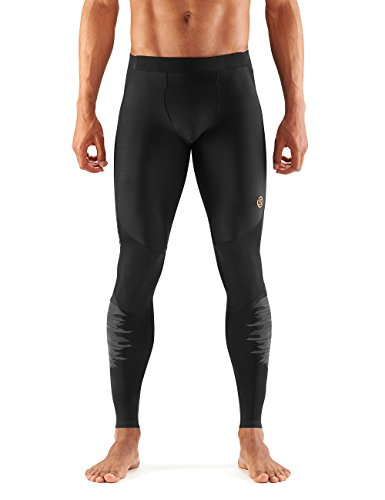 SKINS Men's A400 Compression Long Tights, Oblique, Medium by Skins