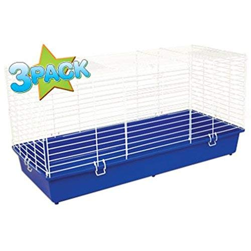 Ware Manufacturing Home Sweet Home Pet Cage for Small Animals - 40 Inches - Pack of 3