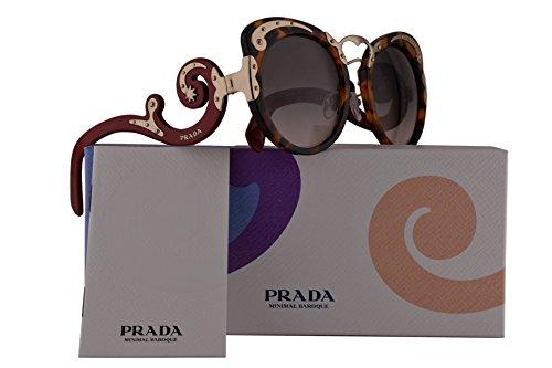 Prada PR07TS Sunglasses Spotted Havana w/Pink Gradient Grey 54mm Lens VAH4K0 SPR07T PR 07TS SPR - Spr09q Prada
