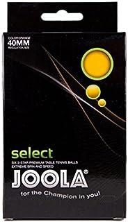 Joola 44-151 Star Table Tennis Ball - Set of 6,Orange