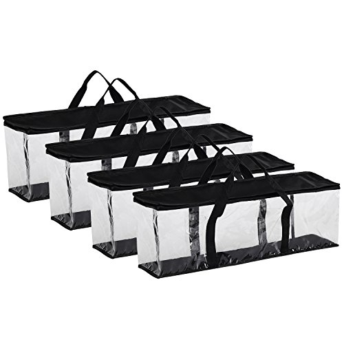 - Fasmov Set of 4 DVD Storage Bags Hold up to 160 DVDs (40 Each Bag)