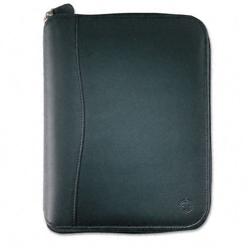 Franklin Covey Spacemaker Leather Ring Bound Organizer with Zipper, 5-1/2 x 8-1/2, ()
