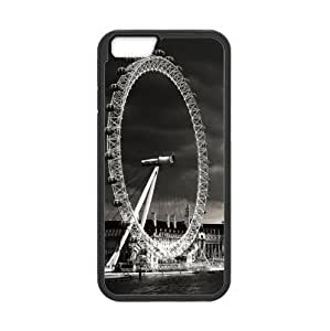 Best Custom Classic London Eye Pattern Design Apple iphone 6 4.7 TPU (Laser Technology) Case, Cell Phone Cover