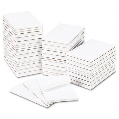 Universal : Bulk Scratch Pads, Unruled, 5 x 8, White, 100-Sheet Pads, 64 Pads per Carton -:- Sold as 2 Packs of - 64 - / - Total of 128 Each by Universal